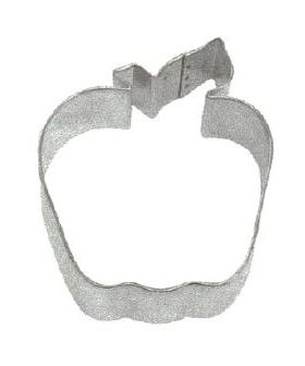 "Apple Cookie Cutter for Rosh Hashonah, 3 1/2"" 8027APL"