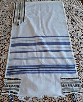 Jewish Wedding, High Holidays, Wool Tallit, Jewish Prayer Shawl, Cotton Tallit, Tallit Set, Tallit For Man, Tallis, White Prayer Shawl 631264768