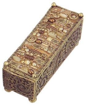 Michal Golan Warm Swarovski Crystal Decorative Box MG-X226