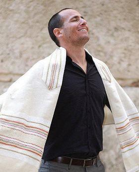 Jewish Gift, Jewish Prayer Shawl, High Holidays, Handwoven Tallit, Cotton Tallit, Wedding Tallit Set, Tallit For Man, White Prayer Shawl 93044040