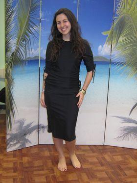 Aqua Modesta Ladies swim dress 2601