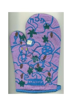 Pesah Dairy Oven Mitt for the Kosher Kitchen IG337