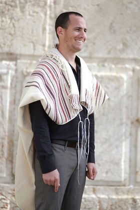 Jewish Wedding, High Holidays, Woven Tallit, Jewish Prayer Shawl, Cotton Tallit, Tallit Set, Tallit For Man, Tallis, White Prayer Shawl 93044147