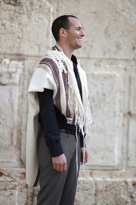 Jewish Wedding, High Holidays, Woven Tallit, Jewish Prayer Shawl, Cotton Tallit, Tallit Set, Tallit For Man, Tallis, White Prayer Shawl 93044447