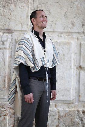 Prayer Shawl, High Holidays, Jewish Prayer Shawl, Jewish Wedding, Cotton Tallit, Tallit For Man, Tallis, White Prayer Shawl, Tallit Set 93125038