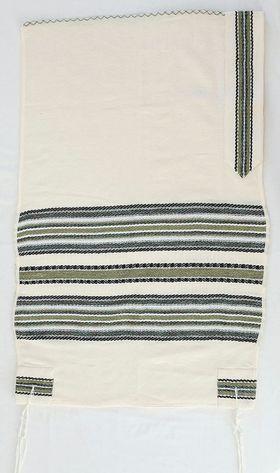 Jewish Gift, Bar Mitzvah, Woven Tallit, Jewish Prayer Shawl, Cotton Tallit, Bar Mitzvah Tallit Set, Tallit For Boy, White Prayer Shawl 625987787