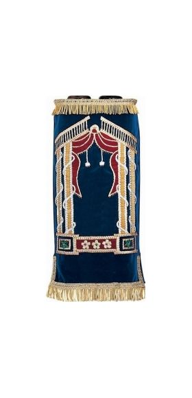 Home :: SYNAGOGUES :: Torah Covers :: Torah Mantles (Cover) - Ashkenazi ::  Gate Mantle